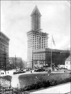 The Smith Tower, Seattle, WA. Designed by mt great-grandfather and great-uncle for L.C. Smith