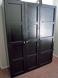 Think make do learn ikea dombas transformation home for Ikea guardaroba dombas