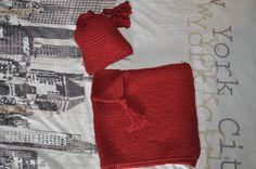 poncho et bonnet modèle phildar