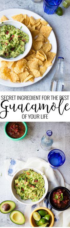 Classic Guacamole Recipe | how to make homemade guacamole | easy guacamole recipe | recipes for guacamole | easy dip recipes | easy appetizer recipes | recipes using avocado | healthy dip recipes || Oh So Delicioso