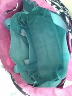 Inside-Out Bag with Keep-It Caddy inside for form and organization - Photographer Unknown