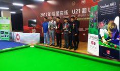 Naseem Akhtar cueist made Pakistan proud, he wins IBSF World Under-18 Snooker Championship