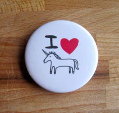 This super cute pin: | Community Post: 16 Magical Gifts All Unicorn Lovers Will Appreciate