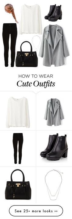 """Casual winter outfit"" by thegirl-inburgundy on Polyvore"