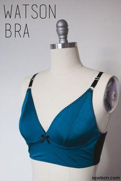 Watson Bra and Undies Sewing Pattern at Sewbon.com