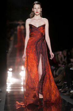 Stunning Dress - Monique Lhuillier Fall/Winter 2012