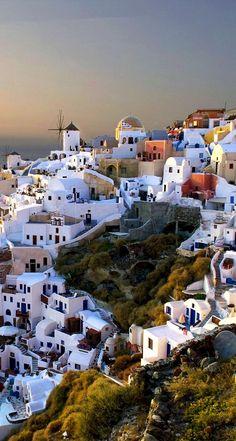 Village of Oia, Santorini, Greece