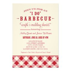 """Couple's Wedding Shower Invitation 