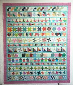 The Bitty Blocks of 2015: Free Quilt Block Patterns
