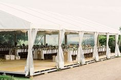 WEDDING MARQUEE.  Take advantage of a beautiful setting with a silk lined marquee for your wedding reception. Photography: www.mredwards.com.au. Wedding Gallery | Hire Ideas & Inspiration | Your Event Solution | YES #YESevents #weddings #YourEventSolution