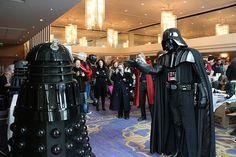 Darth Vader vs. Dalek