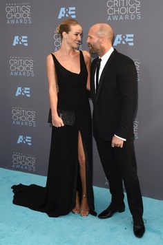 See All the Looks From the Critics' Choice Awards: Rosie Huntington-Whiteley, Jason Statham