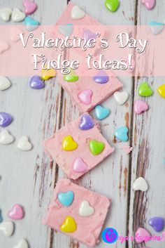 Valentine Day Fudge Idea - Great to make with the kids!