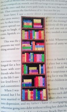 Bookshelf bookmark