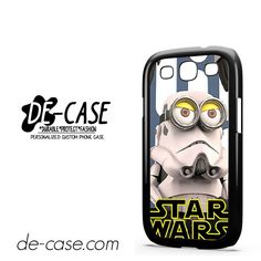 Despicable Me Minion in Star Wars DEAL-3186 Samsung Phonecase Cover For Samsung Galaxy S3 / S3 Mini