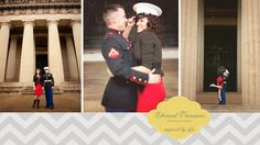 middle tn wedding photography  military engagement photos