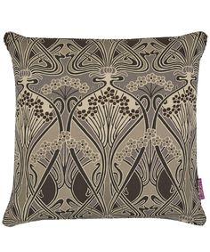 Liberty Art Fabrics Ianthe Linen Union Cushion In Graphite | Home | Liberty.co.uk
