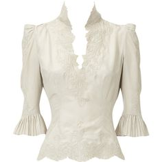Lace embroidery blouse (215 AUD) ❤ liked on Polyvore featuring tops, blouses, shirts, steampunk, women, lacy blouses, steampunk shirt, lace blouse, embroidered shirts and steampunk tops