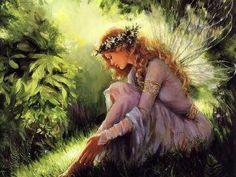 Our garden fairy, Rose.