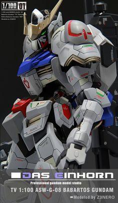 Custom Build: 1/100 Gundam Barbatos Detailed - Gundam Kits Collection News and Reviews