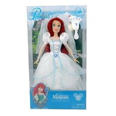 Ariel with a jeweled hair brush are apart of the enchanted fairy tales -- and memories of your visit to the Disney Parks -- to life. This Ariel Doll is perfect for creating happily-ever-after playtime