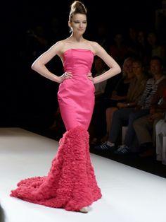 Model at Irene Luft Spring/Summer 2013 - Mercedes Benz Fashion Week - http://olschis-world.de/  #IreneLuft #Womenswear #fashion