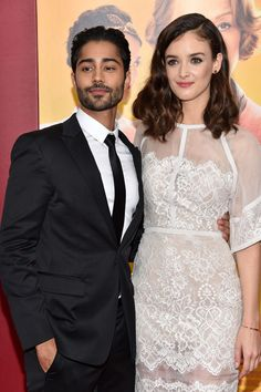 Manish Dayal and Charlotte Le Bon - 'The Hundred-Foot Journey' New York Premiere