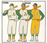 Oakland A's Uniforms 1968 Mlb Uniforms, Baseball Uniforms, Baseball Socks, Baseball Jerseys, Baseball Cap, Baseball Tickets, Minnesota Twins Baseball, Royals Baseball, King Sport