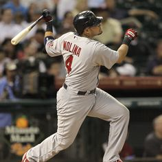 St. Louis Cardinals v Houston Astros 9/24/12 another hr for Yadi!