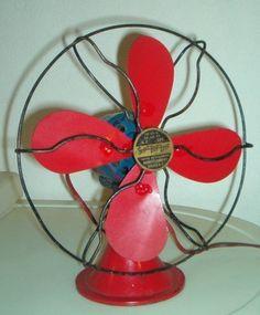 Racey red fan--love it!