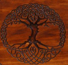 Keltischer Baum des Lebens von Crosswoodcraft auf Etsy