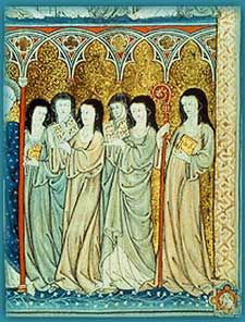Medieval nuns. Examining high and late medieval nuns in Bologna. ~S  #nuns #medieval #italy