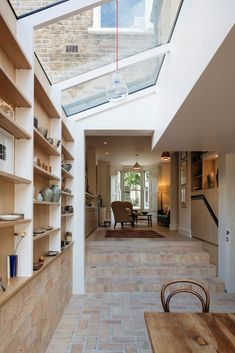 Remodeling done by Neil Dusheiko Architects in Stoke Newington, London