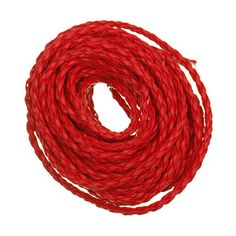 3mm x 5m/lot Manmade Braided Leather Cord Hemp Rope for Jewelry DIY