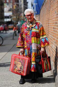 Sue Kreitzman - Advanced Style