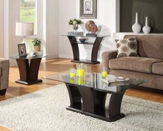 Homelegance Daisy Occasionals Collection with options of Coffee table, Sofa table and end table.  This contemporary collection will be a great addition to your living room.