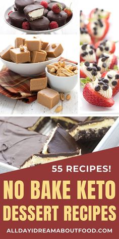 Chill out, my keto friends! No need to turn on the oven for these 50 amazing No Bake Dessert Recipes. Just whip them up, refrigerate, and enjoy the low carb deliciousness. #nobakerecipes #nobakedessert #ketodiet #sugarfree Low Carb Sweets, Low Carb Desserts, No Bake Desserts, Low Carb Recipes, Baking Recipes, Dessert Recipes, Healthy Desserts, Healthy Tips, Healthy Eating