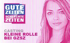 GZSZ - Kleine Rolle zu vergeben: http://www.yourchance.de/casting/Casting_GZSZ_Kleine_Rolle/725