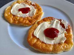 Wolkenbroodjes – Sport Foodblog Waffles, Pancakes, Healthy Recipes, Healthy Food, Low Carb, Bread, Breakfast, Sport, Healthy Foods