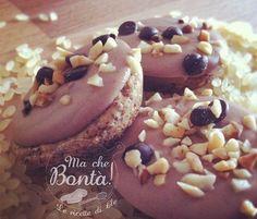 biscotti saraceni con cremino alla nocciola (Buckwheat cookies with hazelnuts chocolate cream) ITA-ENG recipe
