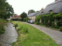 Winkle Street and Calbourne Water Mill. The hidden gem of West Wight, Calbourne is arguably the prettiest village on the island,