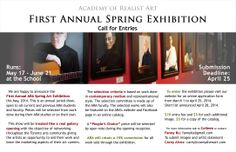 First Annual Spring Exhibit call for entries