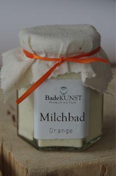 feines Molkebad Orange, mit bio Sheabutter und Kakaobutter