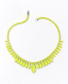 Sunburst Necklace by Ann Taylor.