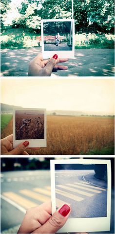 Be Creative and Playful With Polaroid vs Digital Photo