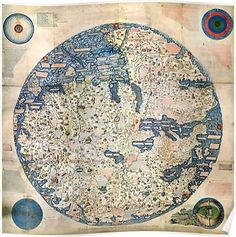 A new and correct map of the whole world - 1736 | Maps | Pinterest
