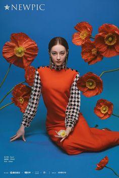 """Từ Weibo """"NewPicUnion""""  """"Cô ấy là Phượng Cửu đáng yêu và đơn thuần, cũng là đại minh tinh Cao Văn dám nghĩ dám làm; một phong cách @ĐịchLệNhiệtBa trên màn ảnh lại hay biến đổi, diễn tả nhiều nhân vật khác nhau, có thể là sự thuần khiết đủ làm hài lòng, cũng có thể là sự rực rỡ chói sáng."""" Concept Photography, Creative Photography, Editorial Photography, Portrait Photography, Fashion Poses, Fashion Shoot, Editorial Fashion, Fashion Photography Inspiration, Photoshoot Inspiration"""