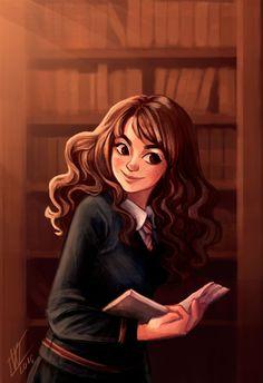 Hermione Granger by WiebkeArt