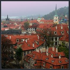 Prague.  (Quite possibly my most favorite city in Europe.)