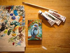 www.facebook.com/florecreated www.instagram.com/florecreated  #FLORE #Florecreated #MalerFlo #Malerei #malen #zeichnen #Künstler #Kunst #picture #paint #Bunt #Maltechnik #artist #painter #Bild #Foto #Fotografie #Zeichnung #draw #Artwork #Creative #kreativ #Kreativität #art #künstlerisch #Drawing  #minipic #littlepainting #kingfisher #eisvogel Bunt, Paintings, Facebook, Drawing, Creative, Instagram, Flowers, Common Kingfisher, Paint Techniques